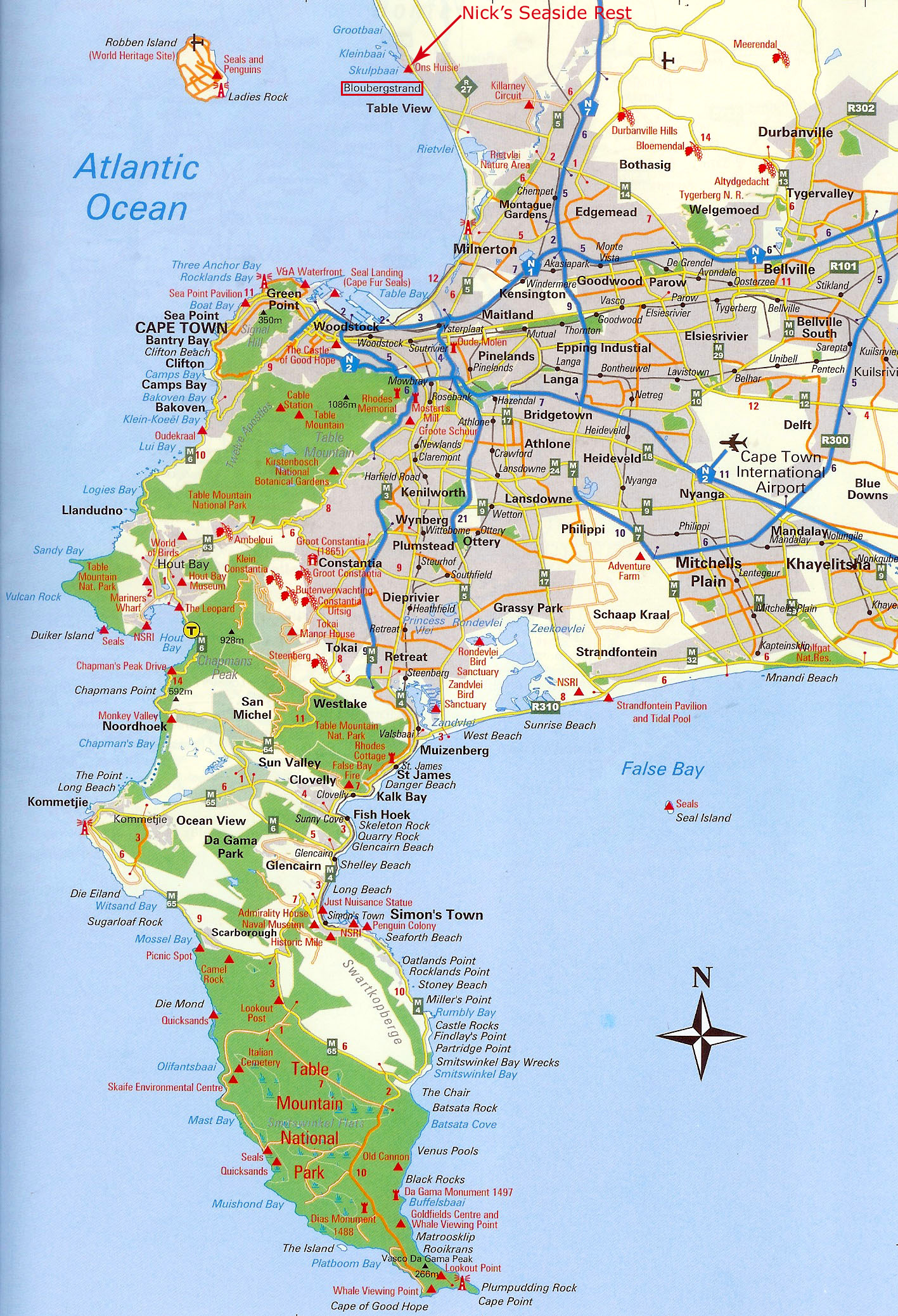 Map_Cape_Peninsula_MR.jpg Cape Town Map